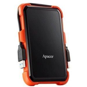 Внешний HDD Apacer 1 TB USB 3.1 Portable Hard Drive AC630 Orange Shockproof (AP1TBAC630T-1)