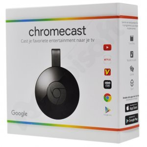 Медиаплеер CHROMECAST GOOGLE TV STREAMING DEVICE