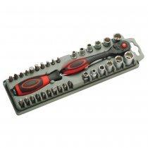 Набор битодержатель Pro'sKit SD-2307M с трещеточным механизмом с битами-bakida-almaq-qiymet-baku-kupit