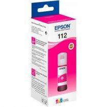Чернила Epson 112 ECOTANK MAGENTA INK BOTTL (C13T06C34A)-bakida-almaq-qiymet-baku-kupit