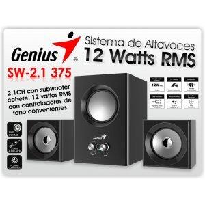 Acoustic system Genius SW 2.1 375