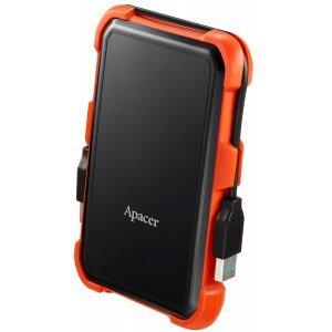 Внешний Apacer 2 TB USB 3.1 Portable Hard Drive AC630 Orange Shockproof (AP2TBAC630T-1)