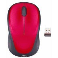 Беспроводная мышь Logitech Wireless Mouse M235 RED