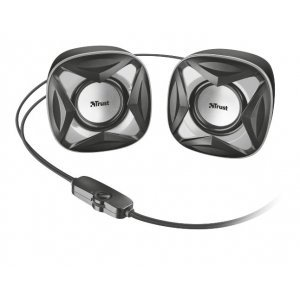 Акустическая система Trust Xilo Compact 2.0 Speaker Set - black (21180)
