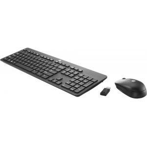 Беспроводная клавиатура и мышь HP Wireless Slim Business Keyboard Mouse / Black (N3R88AA)