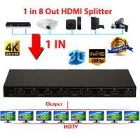HDMI Splitter 1X8 FHD 1080p