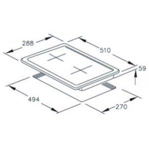 Варочная панель Hotpoint-Ariston DK 20S GH /HA (Cеребристый)