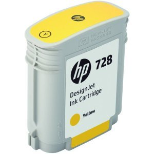 Струйный картридж HP № 728 F9J61A (Желтый)