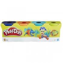 Hasbro Play-Doh PD Dinosaurs 4 баночки (B5517)-bakida-almaq-qiymet-baku-kupit