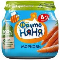 Пюре ФрутоНяня из моркови для детей с 4 месяцев, 80г-bakida-almaq-qiymet-baku-kupit