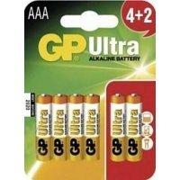 Батарейки GP battery Ultra Alkaline AAA(6) 24AU4/2