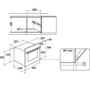 Духовой шкаф Hotpoint-Ariston FA5 844 JC IX HA (Silver)