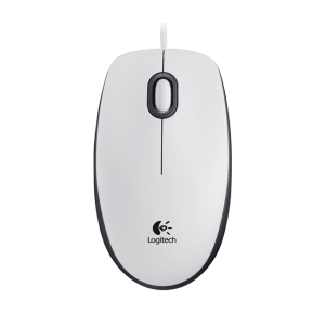 Simli siçan Logitech Mouse M100 White