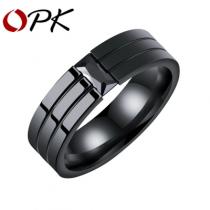 OPK Кольцо из нержавеющей стали (Размер 8)-bakida-almaq-qiymet-baku-kupit