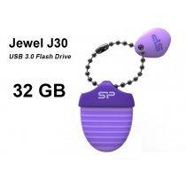 USB флешка Silicon Power UFD 3.0, Jewel J30, 32 GB, Purple (SP032GBUF3J30V1U)-bakida-almaq-qiymet-baku-kupit