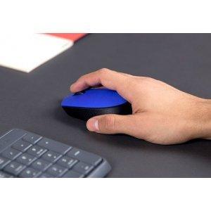 Беспроводная мышь LOGITECH Wireless Mouse M171 / Blue (910-004640)