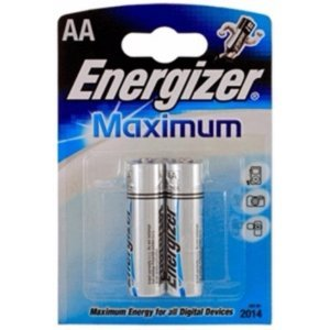 Batareyalar Energizer battery Maximum AA(2) LR6