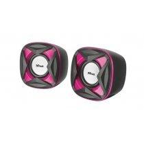 Акустическая система Trust Xilo Compact 2.0 Speaker Set - pink (21181)-bakida-almaq-qiymet-baku-kupit