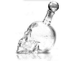 Стеклянный графин в форме черепа (1000 мл)