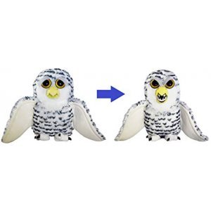 Yumşaq oyuncaq Feisty Pets Henry Whodunnit the Snowy Owl (FP20 Owl)