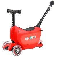Samokatlar Micro Mini2go Red Deluxe Plus (MMD032)