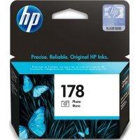 Струйный картридж HP № 178 CB317HE (Черный / фото)