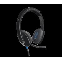 Mikrofonlu qarnitura Logitech USB Headset H540