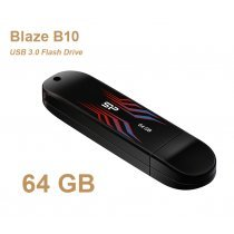 USB флешка Silicon Power UFD 3.0, Blaze B10, 64GB, Blue (SP064GBUF3B10V1B)-bakida-almaq-qiymet-baku-kupit