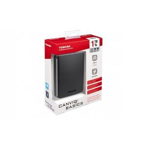 Внешний HDD Toshiba Canvio Basics 500GB USB 3.0 (HDTB305EK3AA)