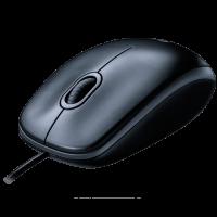 Проводная мышь Logitech Mouse M90 Grey