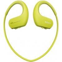Pleyer-qulaqcıq Sony NW-WS413 Lime green