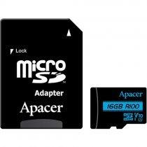 Карта памяти Apacer 16 GB microSDHC UHS-I U1 V10 Class 10 + SD adapter (AP16GMCSH10U6-R)-bakida-almaq-qiymet-baku-kupit