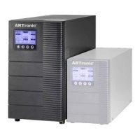 UPS ARTronic Titanium Plus RM 3kVA Online UPS + 2U Battery Cabin) (TitaniumPlus3kVA2U)