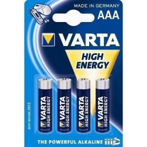 Батарейки VARTA HIGH ENERGY 4903 AAA (4)