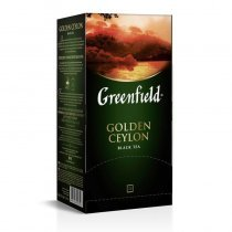 Çay Greenfield Qızıl Seylon qara 25 ədəd-bakida-almaq-qiymet-baku-kupit