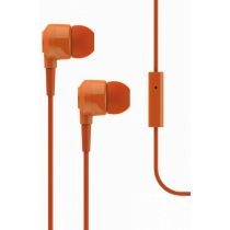 Qulaqcıq T-Tech J10 In-Ear Headphone with Microphone 3.5mm Orange-bakida-almaq-qiymet-baku-kupit