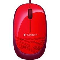 Simli siçan Logitech Mouse M105 Red-bakida-almaq-qiymet-baku-kupit