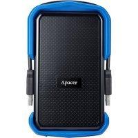 Xarici HDD Apacer 2 TB USB 3.1 Portable Hard Drive AC631 / Blue (AP2TBAC631U-1)