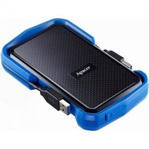 Внешний HDD Apacer 2 TB USB 3.1 Portable Hard Drive AC631 / Blue (AP2TBAC631U-1)