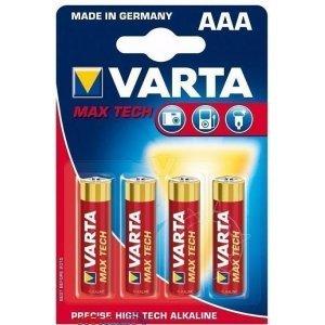 Батарейки VARTA MAX TECH 4703 AAA (4)