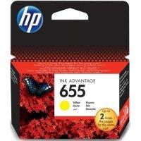 Струйный картридж HP № 655 CZ112AE (желтый)