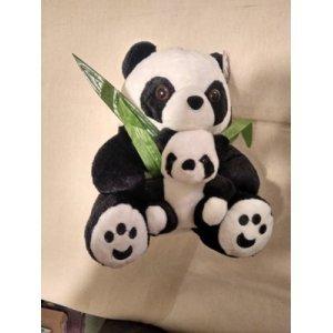 hədiyyə yumşaq oyuncaq (Panda ata)