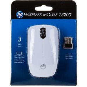 Mouse HP Wireless Mouse Z3200 / White (E5J19AA)