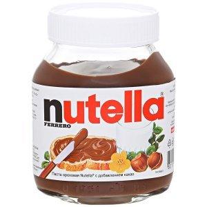 Паста ореховая Nutella с добавлением какао, 350г