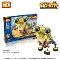 Электромеханический КОНСТРУКТОР LOZ Ox-Eyed Robots (3025)-bakida-almaq-qiymet-baku-kupit