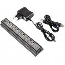 Хаб USB 2,0 10 port + Adapter-bakida-almaq-qiymet-baku-kupit