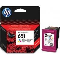 Cərəyan kartric HP № 651 C2P11AE (Трехцветный)