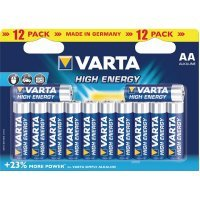 Batareyalar VARTA HIGH ENERGY 4906 AA (12)