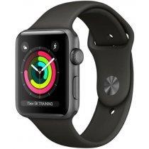 Электронные часы Apple S3 42mm Black Sport (MQL12)-bakida-almaq-qiymet-baku-kupit