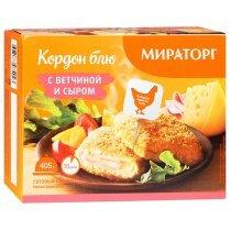 Кордон блю Мираторг с ветчиной и сыром, 405г-bakida-almaq-qiymet-baku-kupit